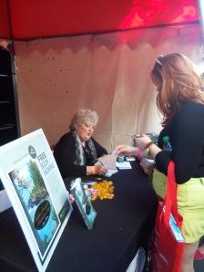 Marci at Miami Book Fair Signing